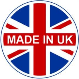 New 'Made in UK' badge for our online products.