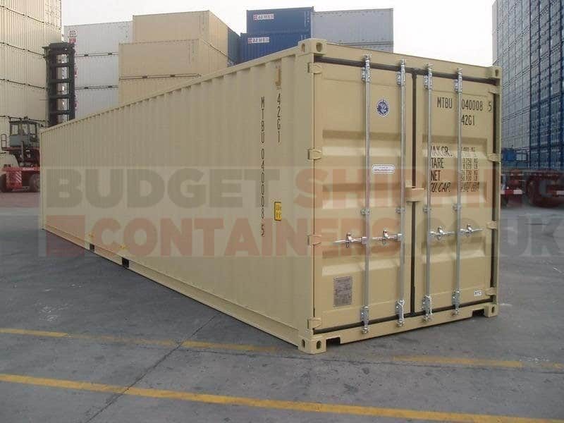 40ft Shipping Containers (New / One Trip) RAL1014