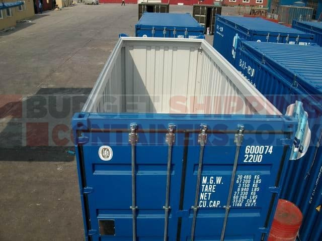 Guide to Open Top Shipping Containers