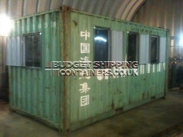 Shipping Container Ticket Office