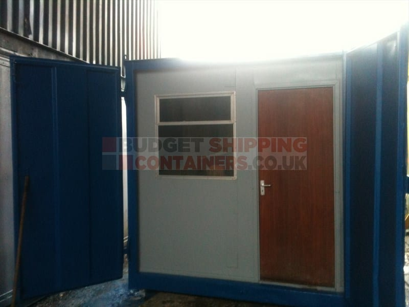 10ft Shipping Container Office (Used)