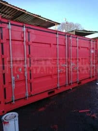 Standard versus Premium repainting options for Shipping Containers