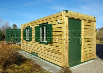 Timber Framed Shipping Containers