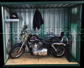 secure flat pack bike store