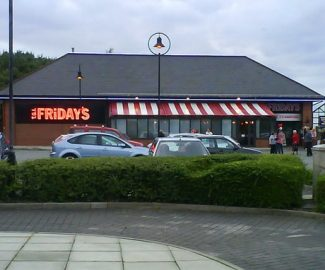 TGI Fridays Shipping Container