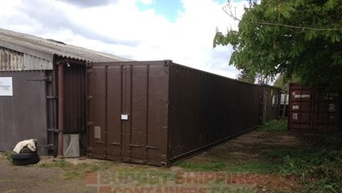 40ft refurbished shipping container Oxfordshire